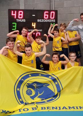 Provinciale U12A plaatsen zich voor halve finale Beker O-VL